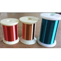 Wholesale Blue / Green / Red Copper Wire , 0.012 - 0.4mm Super Fine Round Enameled Magnet Wire from china suppliers