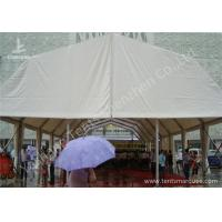 Wholesale Double Pitch Roof Hard Extruded Aluminium Frame Tents , 15 x 40M Outdoor Party Tents from china suppliers