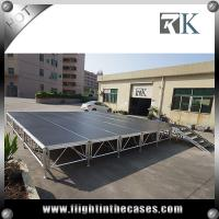 Wholesale portable stage stair concert stage stage backdrop decorations four legs stage from china suppliers