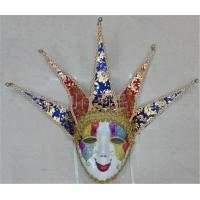 Wholesale Venetian Masquerade Carnival Italy Venice Handmade Painting Full Face Mask from china suppliers