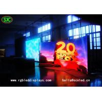 Wholesale Full Color P4.81mm RGB LED Display With Die Casting Curved Rental Cabinet from china suppliers