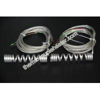 Wholesale Hot Runner Coil Heaters Spring Heater With Stainless Steel Braided Protection Sleeve from china suppliers