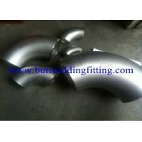 Wholesale ASTM A403 WPS 31726 Butt Weld Fittings 45o 90o Stainless Steel Elbow SCH80S SCH160 from china suppliers