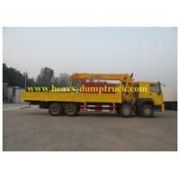 Wholesale 30T 8X4 Chassis Hydraulic Truck Cranes 10.5m Max Euro 2 Emission Standard from china suppliers
