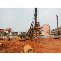 Wholesale 1M Max Drilling Dia Pile Driving Equipment With CAT 318D Excavator Chassis from china suppliers