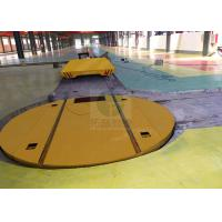 Buy cheap 5 t Industrial Electric turntable for Steel mill handling on railway from wholesalers