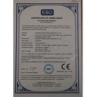 China Tellsing Electric Cable&Wire Machinery Co.,Ltd. Certifications