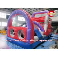 Wholesale PVC 0.55mm Giant Inflatable Obstacle Course For Kids / Adult Customized Size from china suppliers