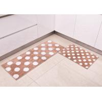 Wholesale Customized household Decorative Microfiber Kitchen Mats , Polka-dot patterns style from china suppliers