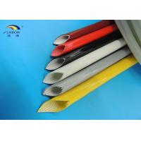 Wholesale High Temperature Silicone Fiberglass Sleeving for Insulators Fireproof and Eco-friendly from china suppliers