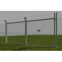 Quality Road Residential Boundary Wall chain link fencing For Leisure Sports Field / School Chain for sale