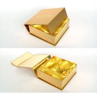 Wholesale Customized Gold Present Wine Gift Cardboard Boxes with Lids for Wedding from china suppliers