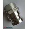 Buy cheap Aluminum Acoples Camlock type F from wholesalers