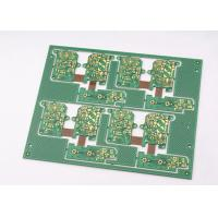 Wholesale Green Solder Mask Rigid Flexible PCB 4 Layer with Immersion Gold Plating from china suppliers