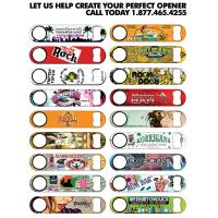 Wholesale Heat-transfer printing Auto Open Stainless Steel Rib Umbrella Customized Bottle Openers from china suppliers