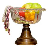 Wholesale hotel Fruit Glass Plate Stand from china suppliers
