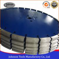 Wholesale 10 / 12 / 15mm Segment Height Diamond Loop Concrete Saw Blades With Long Lifetime from china suppliers