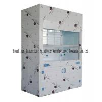 Wholesale Laboratory PP Fume Hood Cabinet , 2350mm Height Chemical Exhaust Hood from china suppliers