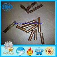 Wholesale Slotted spring pins,spring pins,grooved spring pins,split spring pins,stainless steel slotted pins,Copper spring pin from china suppliers