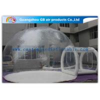 Wholesale Transparent PVC Inflatable Lawn Tent Bubble Clear Dome Tent for Camping from china suppliers