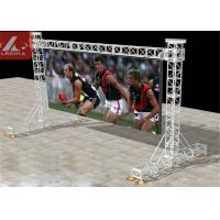 Wholesale Aluminium Goal Posts Truss LED Screen Small Medium Goal Post Lighting Stand from china suppliers