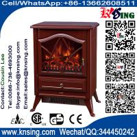 Wholesale electric fires stoves log burning flame FIREPLACE heater ND-18D2P chimenea Sentik Milton Estufa best price red finish from china suppliers