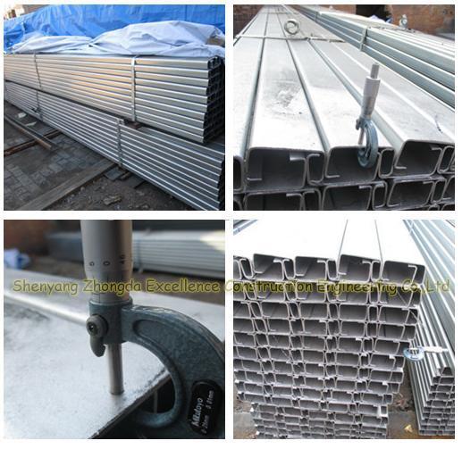 Galvanized Steel C Purline