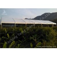 Wholesale 100 Percent Waterproof Aluminum Frame Canopy Tents , Big Event Tent Structure from china suppliers