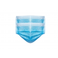 Wholesale 3 Ply Non Woven Food Industry Disposable Earloop Face Mask from china suppliers