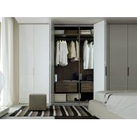 Wholesale wooden color wardrobe foshan modern clothes good price multifunction wardrobe from china suppliers
