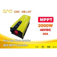 Wholesale DC To AC Pure Sine Wave House Power Inverter 2000w 48 Volt Inverters & Converters 110 Volt from china suppliers