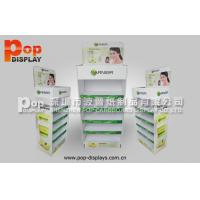Wholesale Customized Durable Cardboard Display Stands With Steel Tube For Facial Cleanser from china suppliers