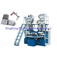Wholesale Safety Rotary Hydraulic TPR Sole Moulding Machine 6 Stations For Strap / Uppers from china suppliers