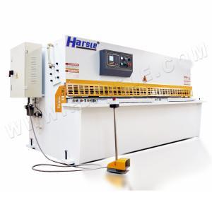 China plate steel hydraulic shearing machine,10x2500mm NC steel pendulum cutting machine on sale