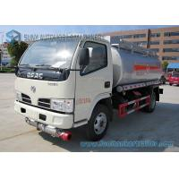 Buy cheap 5m3 4x2 Dong Feng Oil Tank Trailer Chemical Tanker Truck 72W 80km/h from wholesalers