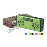 Quality Portable Speaker/mini Speaker USB & Micro SD card speaker with radio DY-D-014 for sale