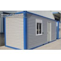 Wholesale Carport Garage Prefab 20ft Container House , Prefab steel frame modular homes from china suppliers