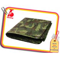 Wholesale 6' X 8' Medium Duty Premium Camouflage Poly Tarp,pe camouflage printed fabric from china suppliers