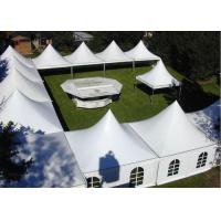 Wholesale White Aluminum Frame Arabian Style Pagoda Party Tent With Transparent Windows from china suppliers