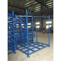 Foldable Warehouse Storage Stacking Rack for fabrics, tires, cartons