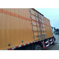 Quality High Security Van Cargo Truck SINOTRUK HOWO 4X2 LHD Euro 2 Lorry Vehicle for sale