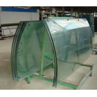 Wholesale 12mm F-Green Coating Curved Tempered Glass Curtain Wall For Commercial Building from china suppliers
