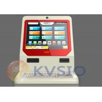 Quality Interactive Countertop Kiosk Self-service Bill payment With photo download for sale