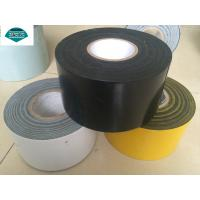Wholesale 15 Mils To 40 Mils Thick Anti Corrosion Tape , Polyester Tape Black from china suppliers