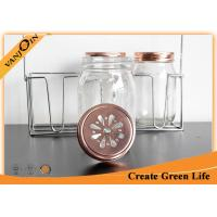 Wholesale 70mm Copper Gold Daisy Bottle Lids Mason Jar Lid For Home Decoration from china suppliers