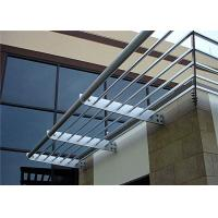 Wholesale Scrubbable Aluminium Louvre Awnings Outdoor Sun Shade Horizontal Pattern from china suppliers