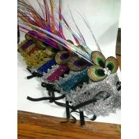 Wholesale Halloween Christmas Venetian Masquerade Glittering Half Face  Party Mask from china suppliers