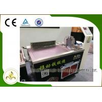 Wholesale Fume Down Exhaust Mobile Teppanyaki Grill Table Electric Tube Mobile Stainless Steel from china suppliers