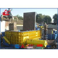 Wholesale Heavy Duty Copper Tubes Stainless Steel Pipes Scrap Metal Compactor Baling Press 74kW from china suppliers