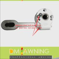 Buy cheap awning gear box with manual steel  crank from wholesalers